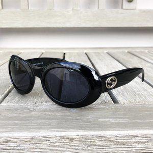 Gucci Black Vintage Sunglasses